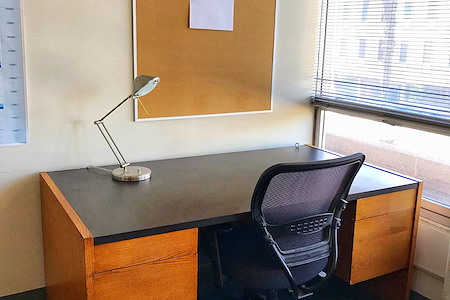 Media Policy Center - Open Desk in Shared Office. Great Deal!