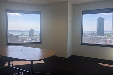 Coalition Space | Jersey City - Beautiful Corner Windowed Office