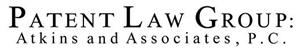 Logo of PATENT LAW GROUP: Atkins and Associates, P.C.