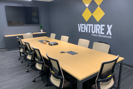 Venture X Frisco - Stonebrook - Longhorn Conference Room