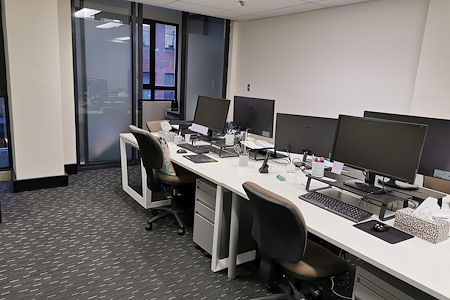 Pitt Street Office Desk - Dedicated Desk