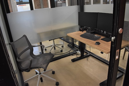 desk chair coworking - Office ( Single Desk )