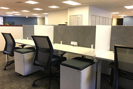 Intelligent Office Troy - Dedicated Desk
