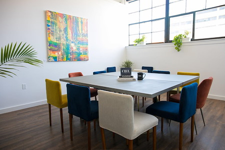"""CIEL CREATIVE SPACE - Formal Meeting Room with 65"""" Screen"""