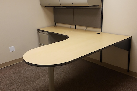 Campbell Corporation | Brookshire Office Suites - Private Office #2 | Fully Furnished