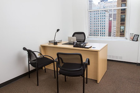 Corporate Suites: 1001 6th Ave. (37th) - Midtown Private Windowed Office