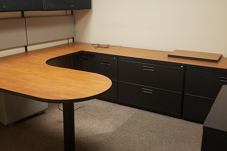 Campbell Corporation | Brookshire Office Suites - Private Office #1 - Fully Furnished