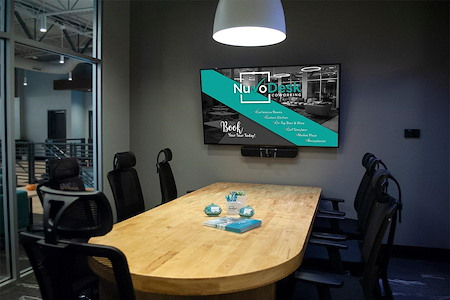 NuvoDesk Coworking - Huddle Room F