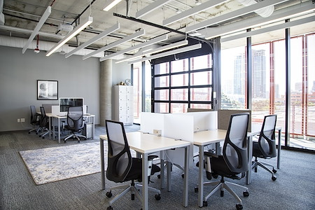 Regus- Spaces Makers Quarter - Dedicated Desk Co-work Suite