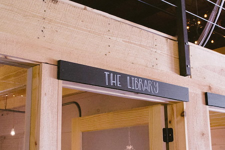 Comradery Co-work - The Library