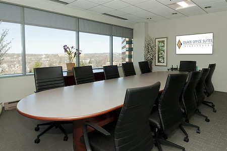 Source Office Suites Arlington - Executive Board Room