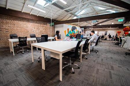 Haymarket HQ - Dedicated Desk  - Full Time membership