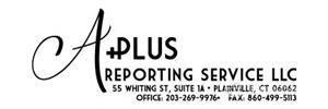 Logo of A Plus Reporting & Video Conferencing Service