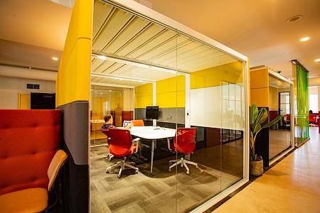 OnePiece Work Santa Monica - Unique Meeting Room with Patio Access