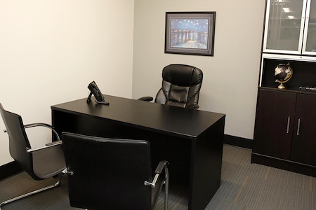 Global Business Centers - Interior Office and Cubicle