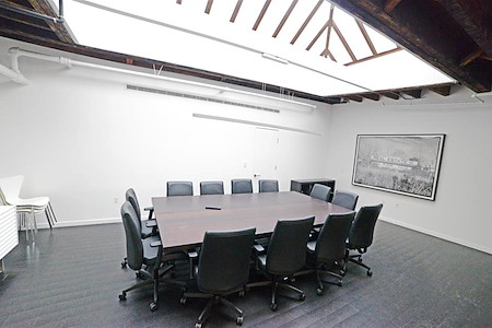 Hudson River Collaborative - Conference Room w/ Skylight