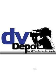 Logo of dvDepot Studio and Equipment Rental House
