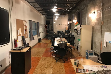 Chicago Fabrications - Dedicated Desk 1