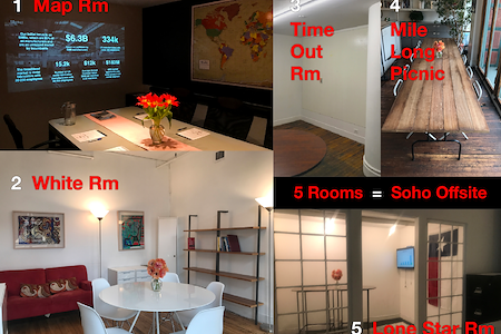Soho Offsite - Soho Offsite   5 Rooms for Big Ideas