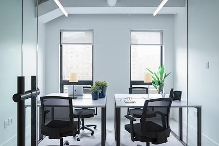 Bond Collective Bushwick - 2 Desk Office (Interior & Window)