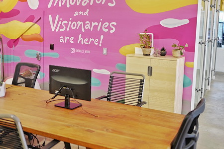 OnePiece Work San Francisco - The Best Dedicated Desk