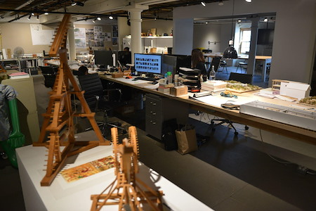 Scott Payette Architects - Creative Office Desk