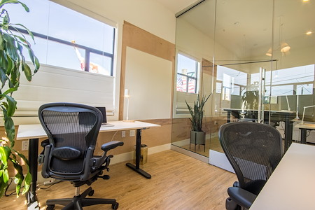 Known Space - Private Glass Corner Office