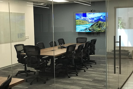 Awesome Modern Industrial Offices & Conference Room - Meeting / Web-Conferencing Room