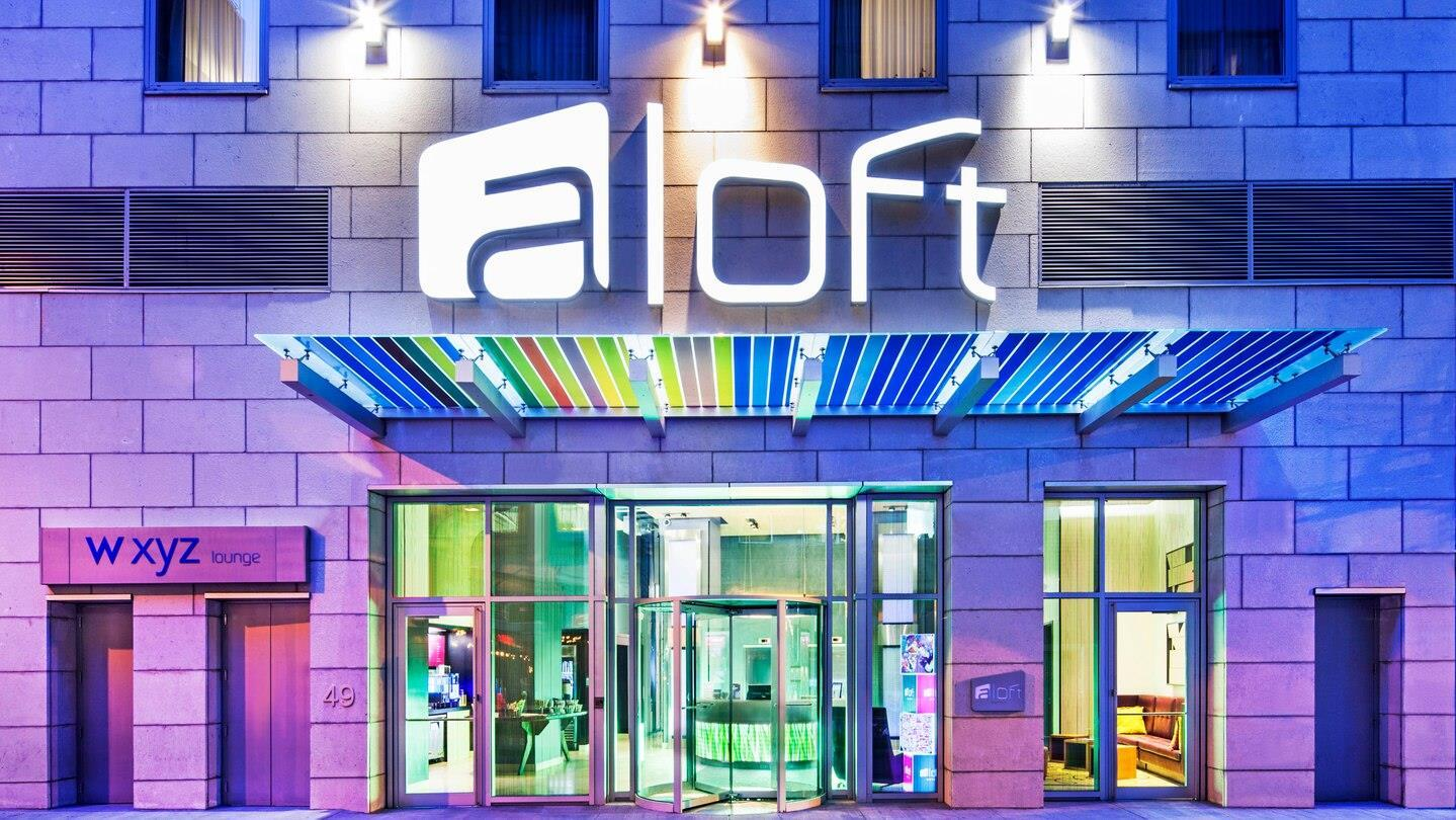 Logo of Aloft Manhattan Financial District