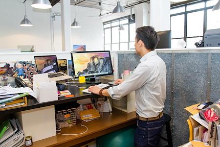 Brooklyn Creative League - Dedicated Desk Carrel