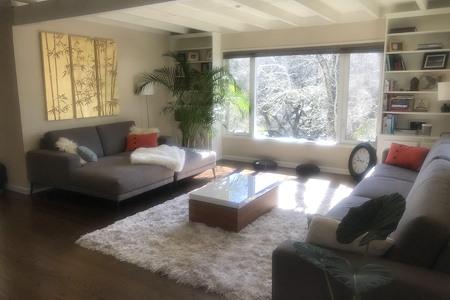 Paul's Fairfax Retreat - Work & Event Living Room