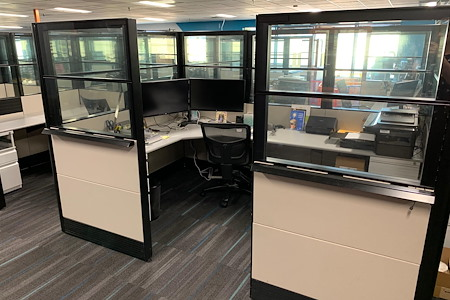 Circuit Launch: The Center for Electronic Hardware Dev. - Partitioned Private Workspace (6ftx9ft)