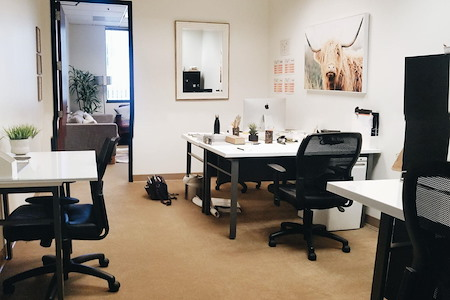 Venture Yours - Desk in Private Office + Conference Room