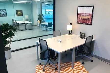 Regus | SPACES @ Culver City - Private 3 person office