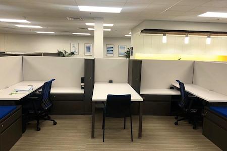 BLANKSPACES | IBASE Irvine - Pair of Dedicated WorkStations