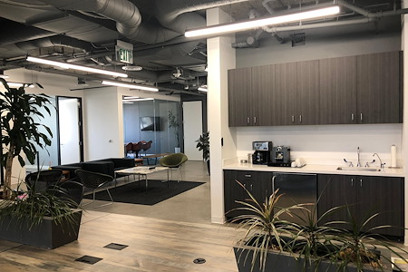 Brentwood Creative Office Co-Working Suite - Open Desk Areas