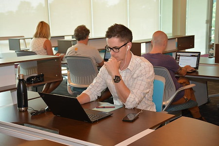 Flywheel Coworking @ Center for Design Innovation - Open Workspace