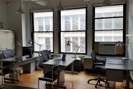 Metropolis Modern - 3 Desks in Flatiron Shared Office Suite