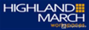 Logo of Highland-March Workspaces at Marina Bay