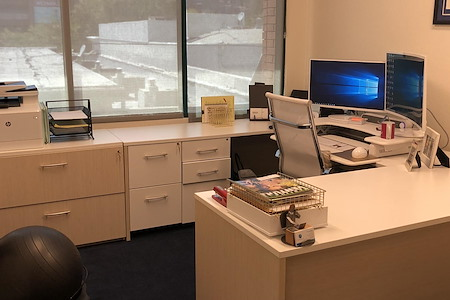 Downtown Walnut Creek offices-superb location & price!! - Downtown Walnut Creek Dedicated Desk 1