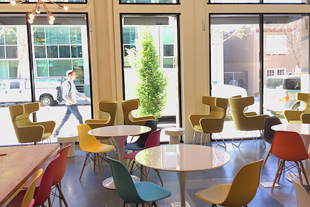 The Office: Berkeley - Open Cafe Seating