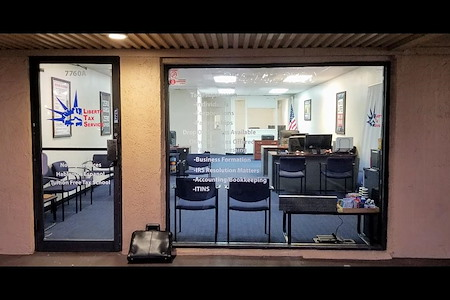 Liberty Tax Service - Private Office inside our Office