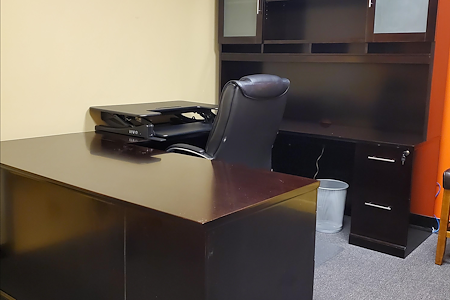 Under One Roof Tradeshow Services, Inc. - Bright Office with Plenty of Storage