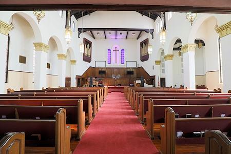 Historic Victorian Church in Los Angeles - Main Sanctuary Church