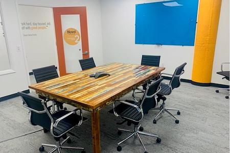 Novel Coworking Jacksonville - 12 Person Meeting Room