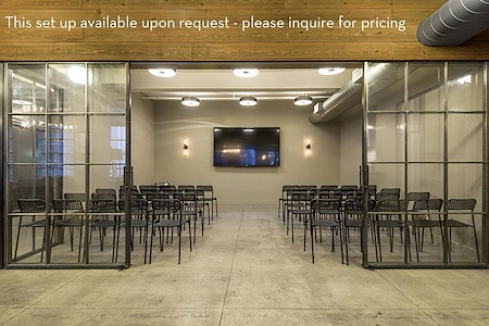 WorkHouse NYC | Midtown - Grand Central - Screening Room and Adjacent Event Space