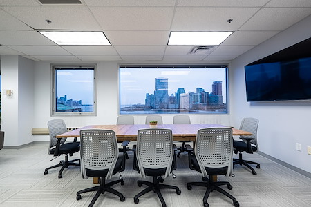 Magnolia Innovation Lab - Modern Boardroom with NYC skyline views
