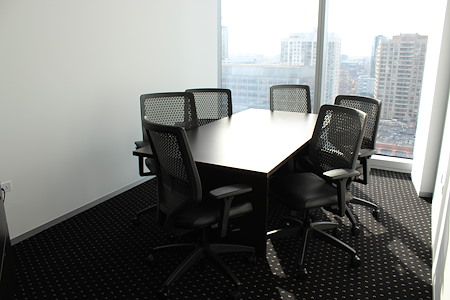 Servcorp - River Point - External Meeting Room, seats 6