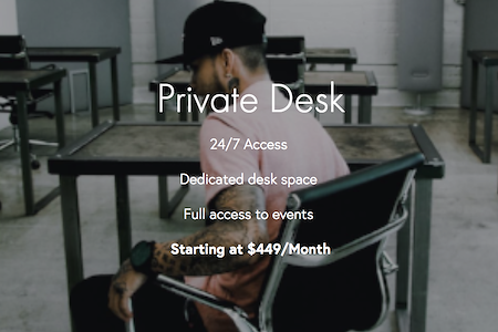 CTRL Collective | LoDo @ DAIRY BLOCK - Private Dedicated Desk