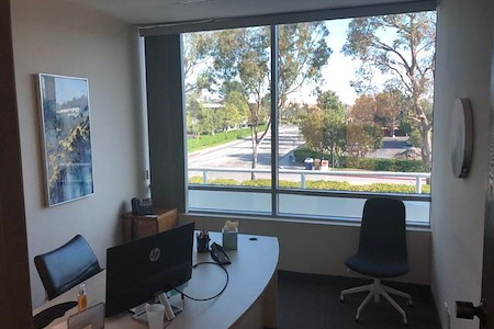 Professional private offices available in Aliso Viejo - Quiet office near the back